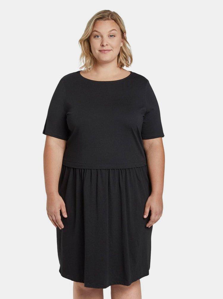 Černé dámské šaty My True Me Tom Tailor