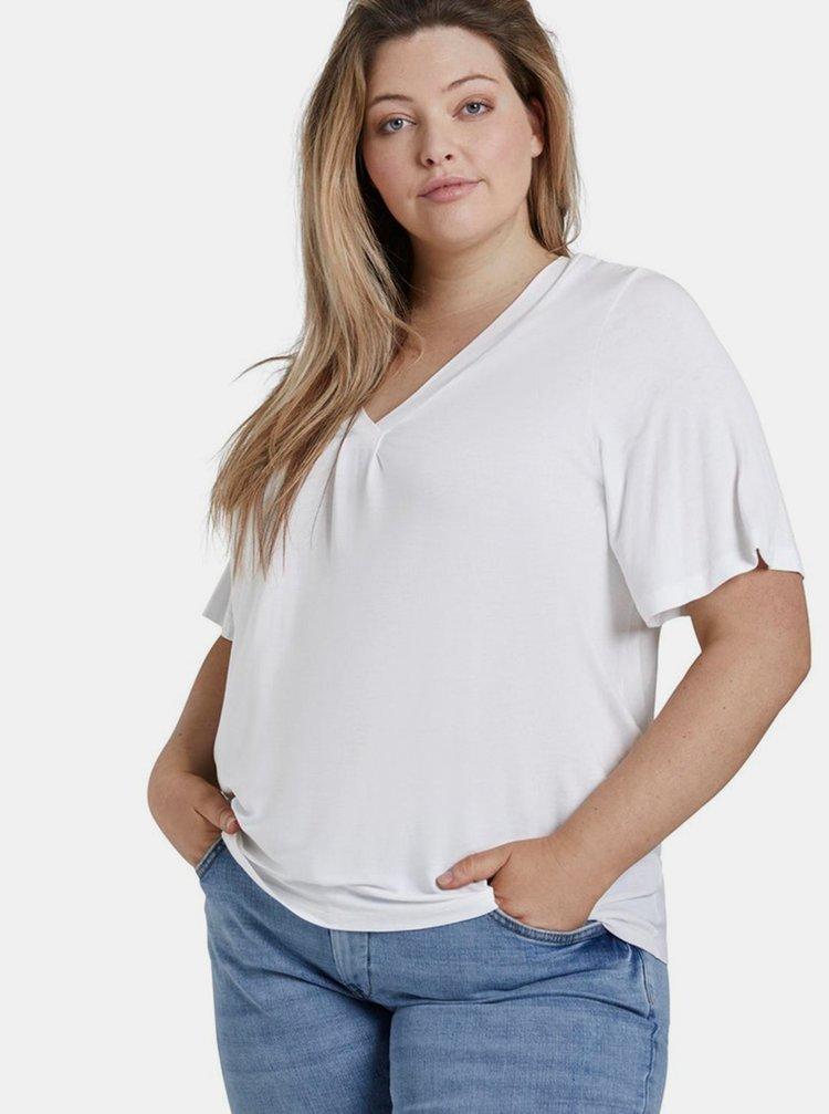 Bílé dámské tričko My True Me Tom Tailor
