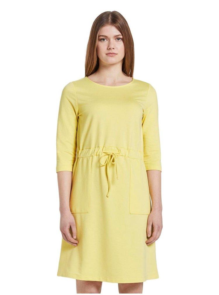 Žluté dámské šaty Tom Tailor Denim