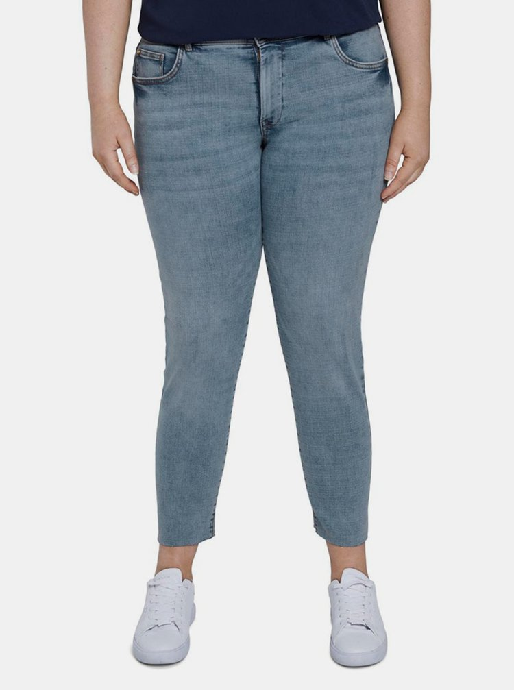 Světle modré dámské skinny fit džíny My True Me Tom Tailor