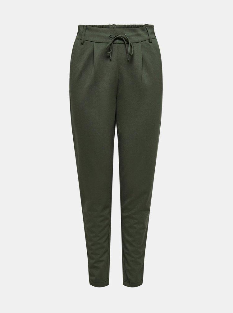 Pantaloni chino pentru femei ONLY - verde