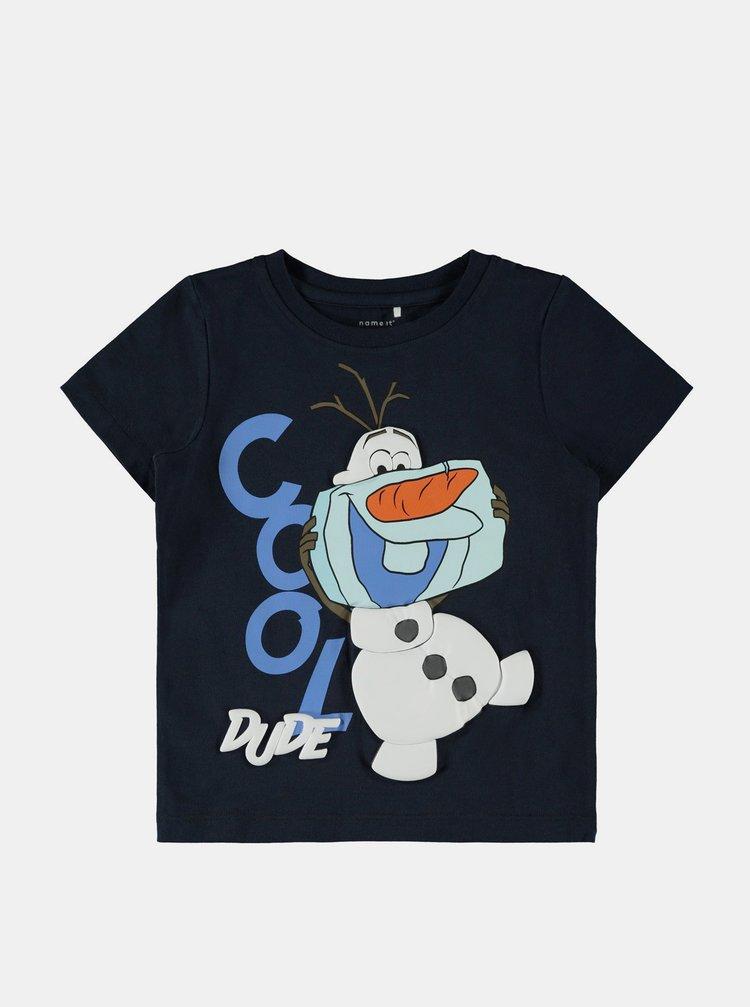 Tmavě modré klučičí tričko name it Molaf