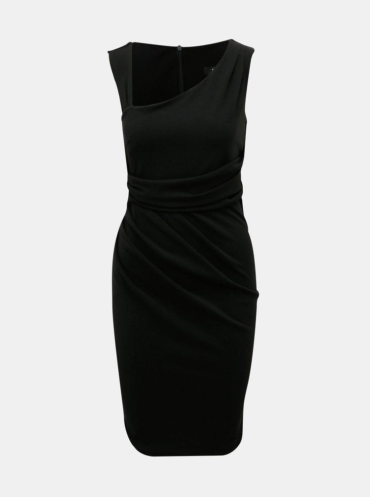 Čierne púzdrové šaty ZOOT