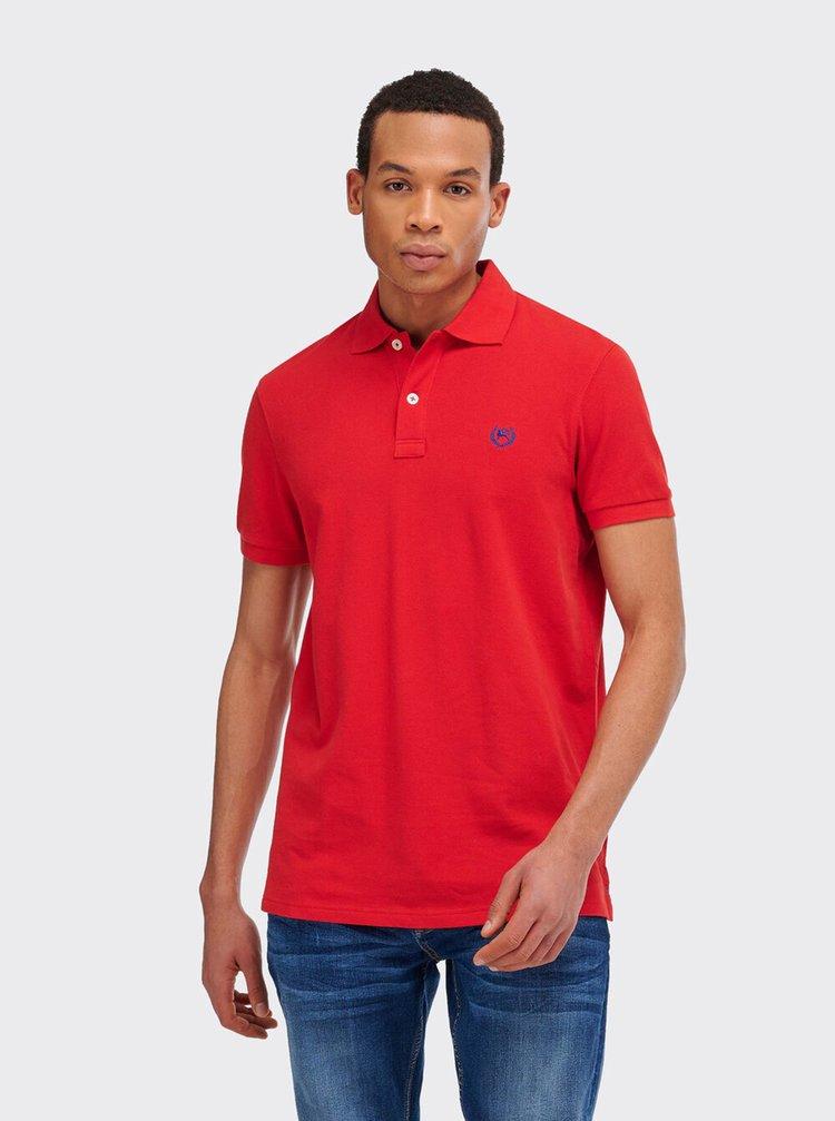 Červené pánské polo tričko Alcott