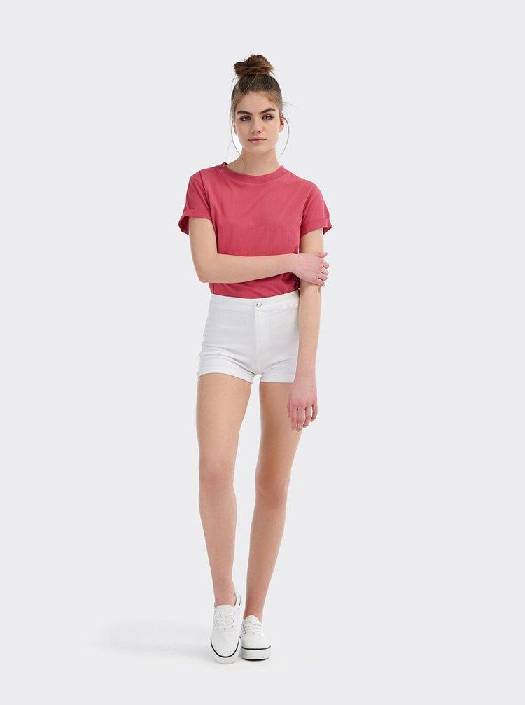 Pantaloni scurti  pentru femei Alcott - alb
