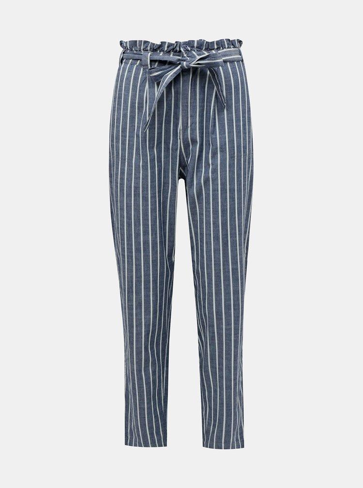 Pantaloni chino pentru femei VERO MODA - albastru