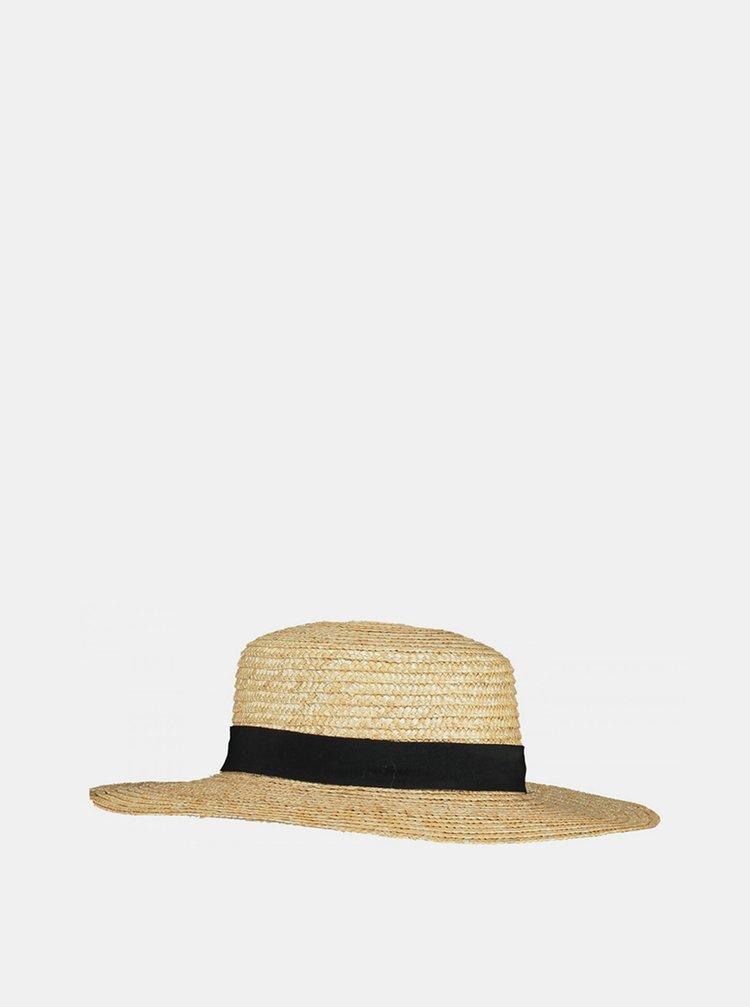 Béžový slaměný klobouk Haily´s Anna