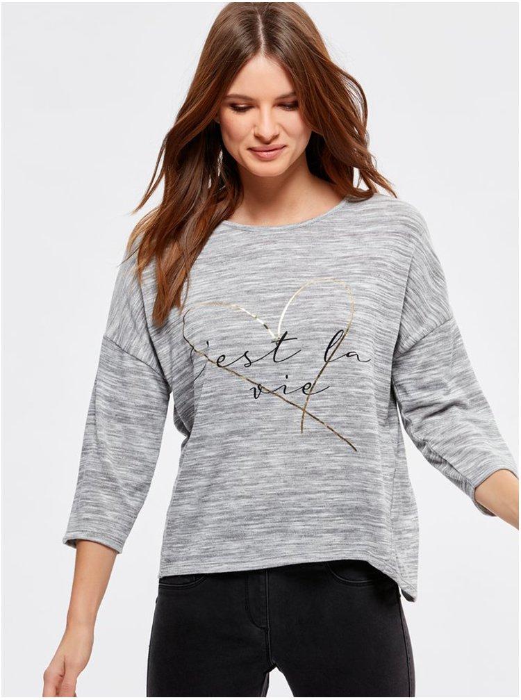 Šedé tričko M&Co Petite