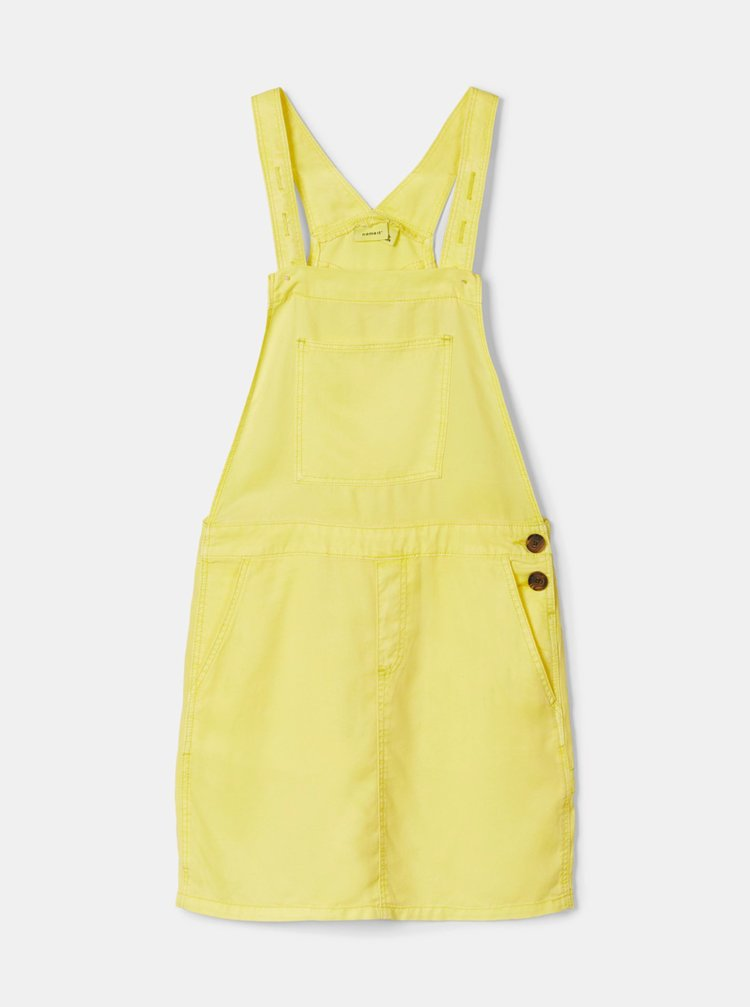 Žluté holčičí šaty name it Atess