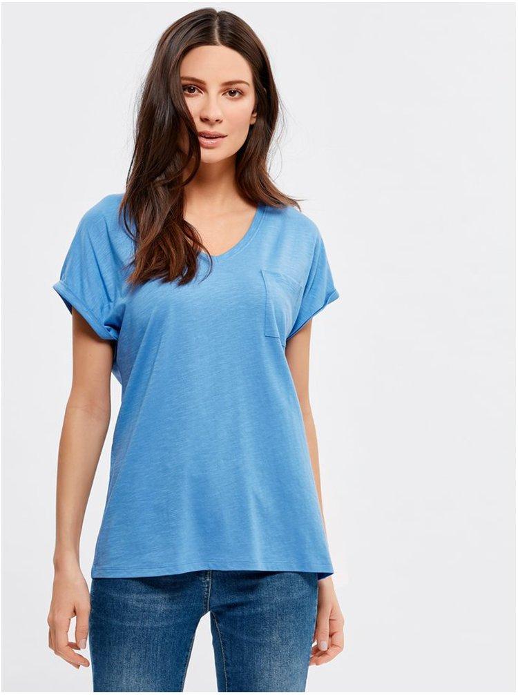 Modré tričko M&Co