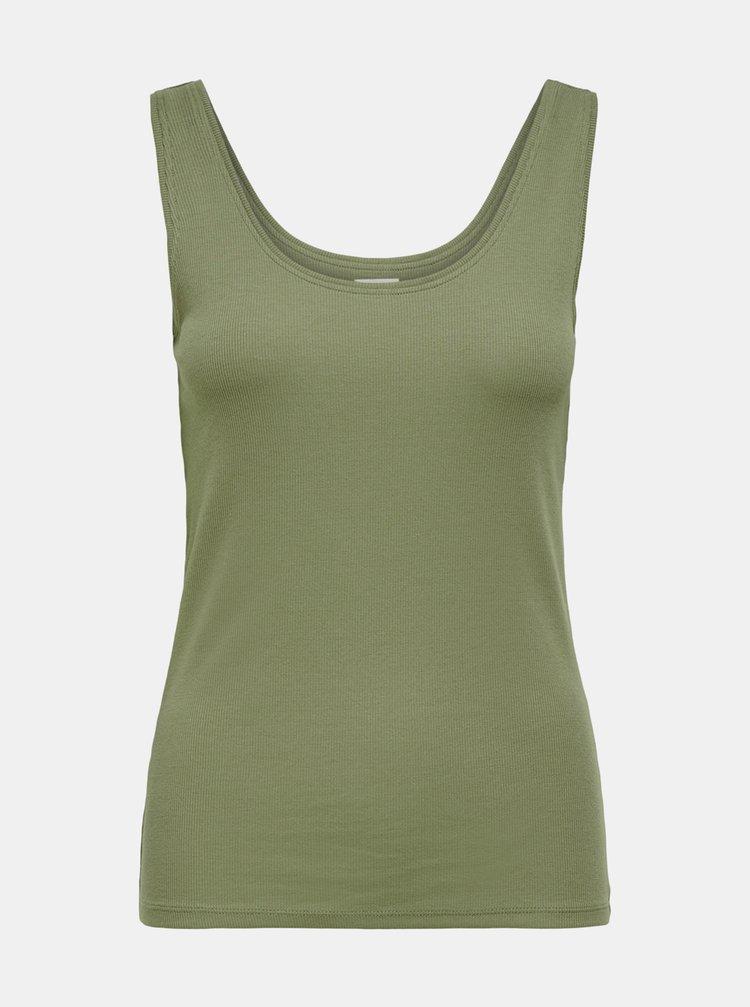 Topuri si tricouri pentru femei Jacqueline de Yong - verde