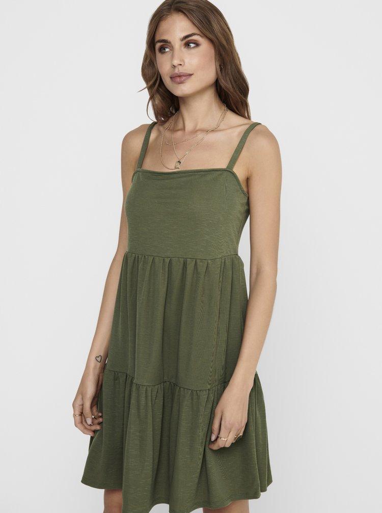Zelené šaty ONLY Safi