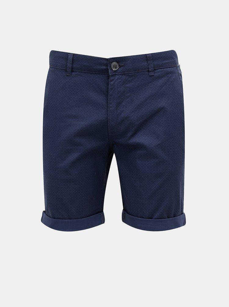 Pantaloni scurti pentru barbati Selected Homme - albastru inchis