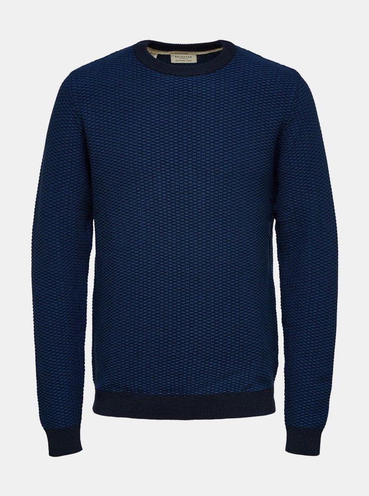 Pulovere pentru barbati Selected Homme - albastru