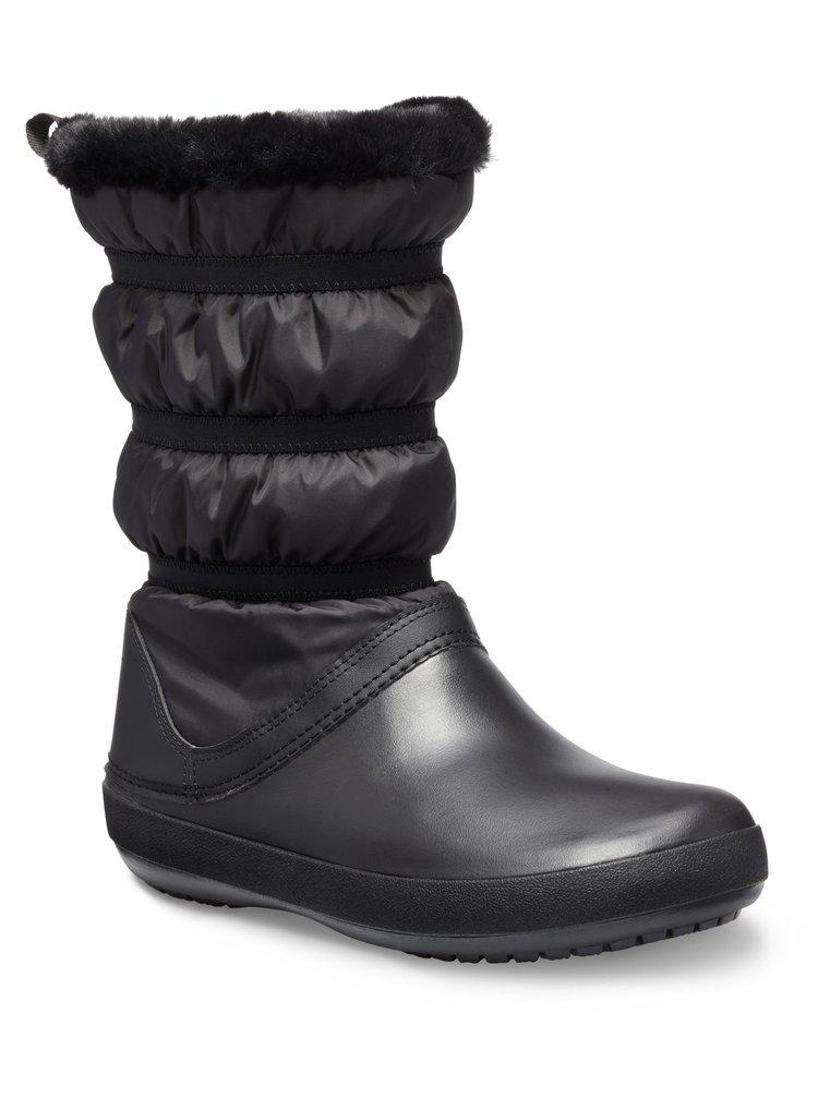 Crocs černé sněhule Crocband Winter Boot Black