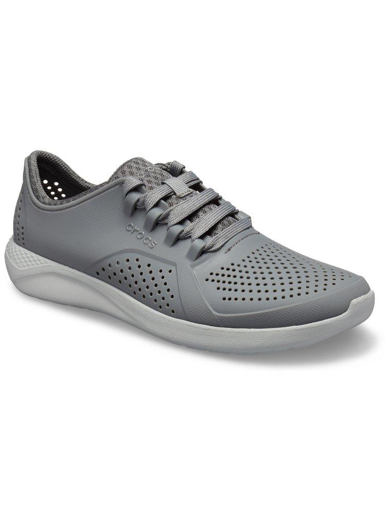 Crocs šedé tenisky LiteRide Pacer Charcoal/Light Grey