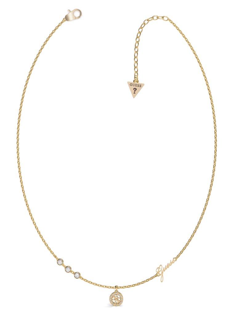Guess zlatý náhrdelník Guess Miniature