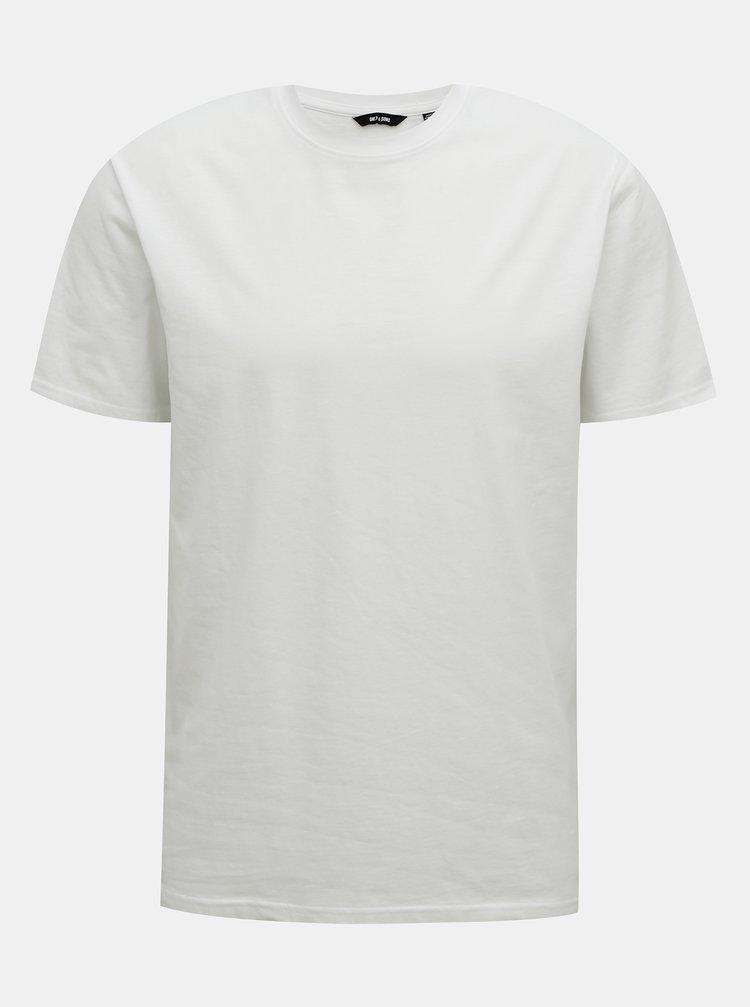 Bílé basic tričko ONLY & SONS