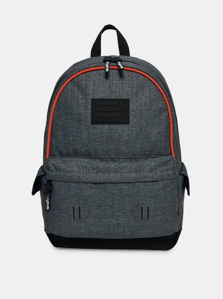 Šedý batoh Superdry