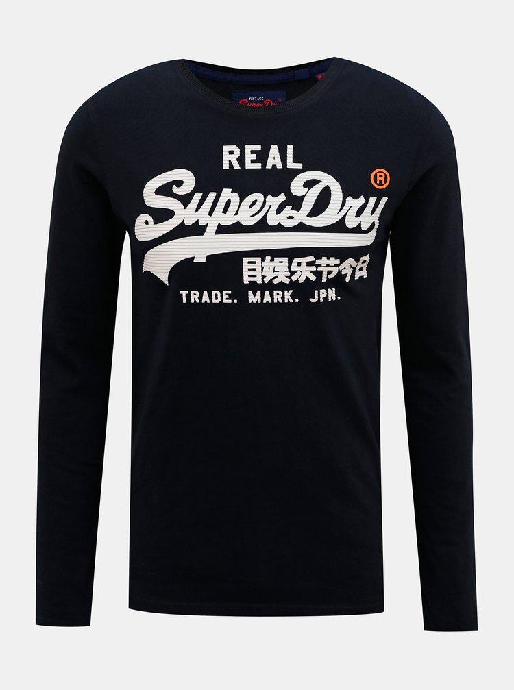 Bluze pentru barbati Superdry - albastru inchis