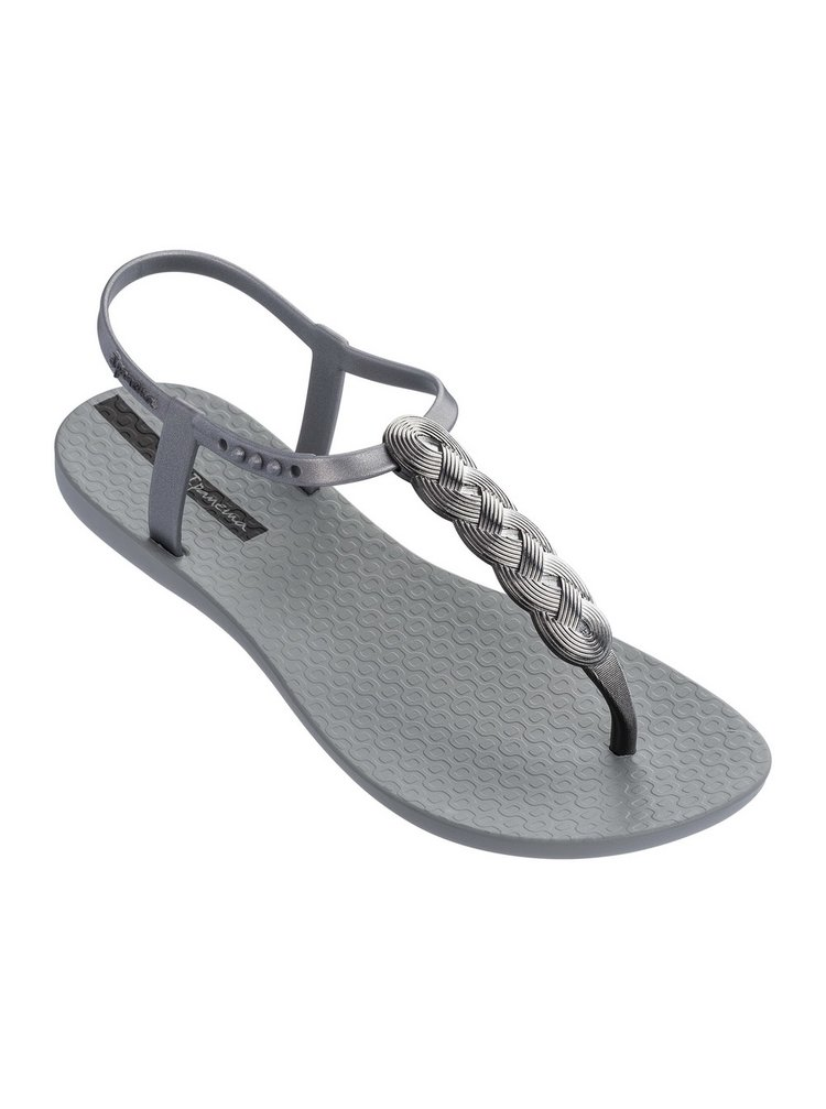 Ipanema stříbrné sandály Charm VI Grey/Silver