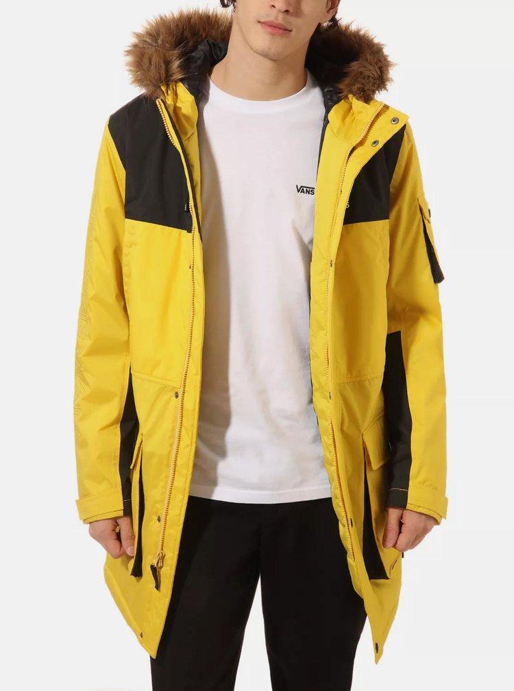 Jachete de iarna pentru barbati VANS - galben