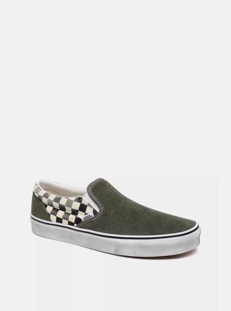 Espadrille, pantofi slip-on pentru femei VANS - kaki