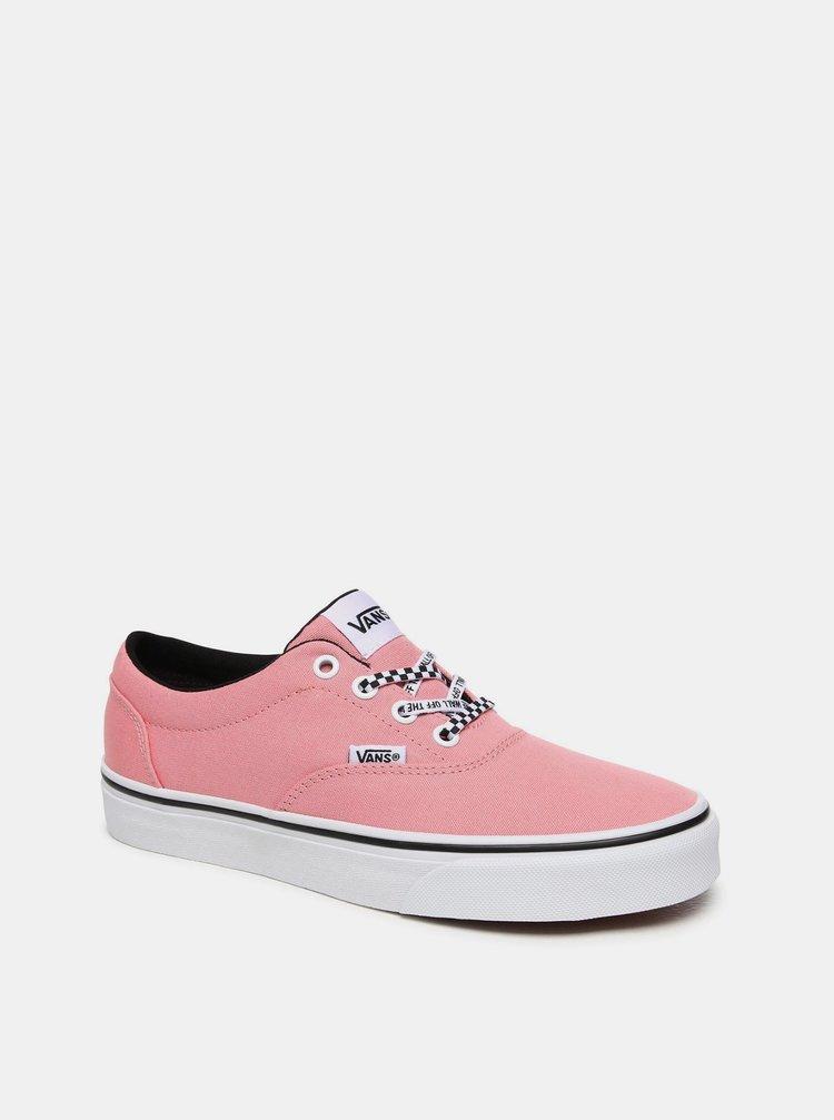 Růžové dámské tenisky VANS