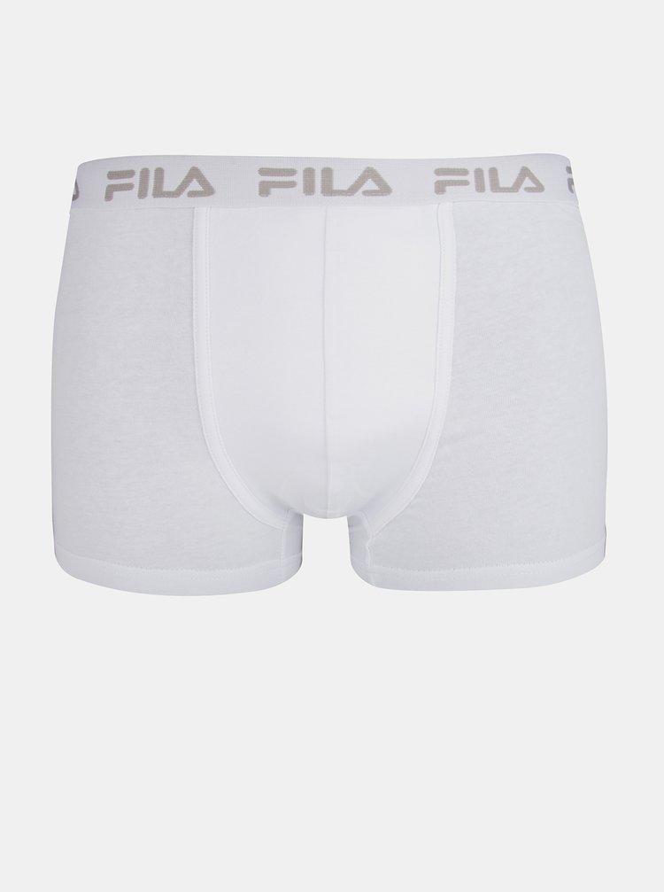 Bílé boxerky FILA