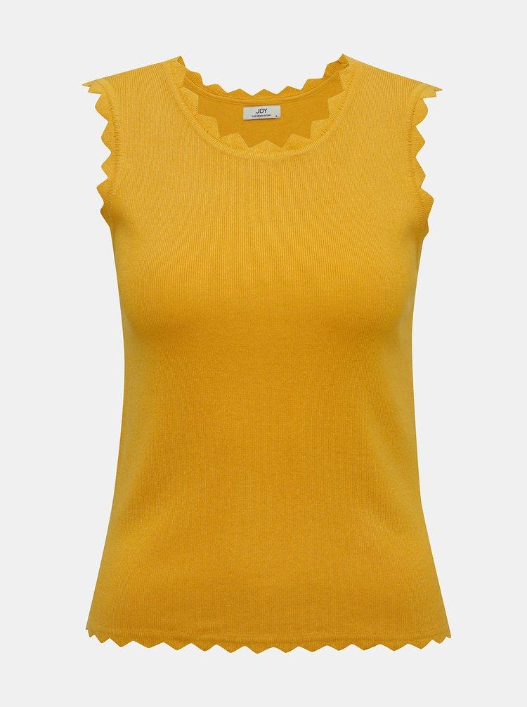Žlutý top Jacqueline de Yong Delilah