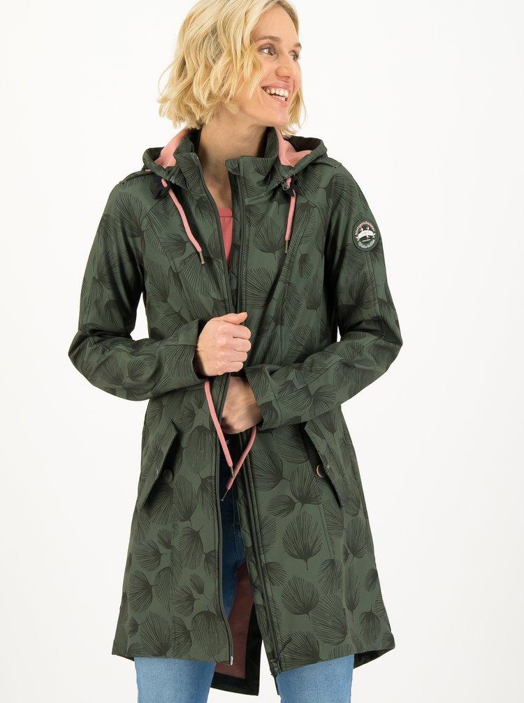 Jachete impermeabile si pelerine de ploaie pentru femei Blutsgeschwister - verde