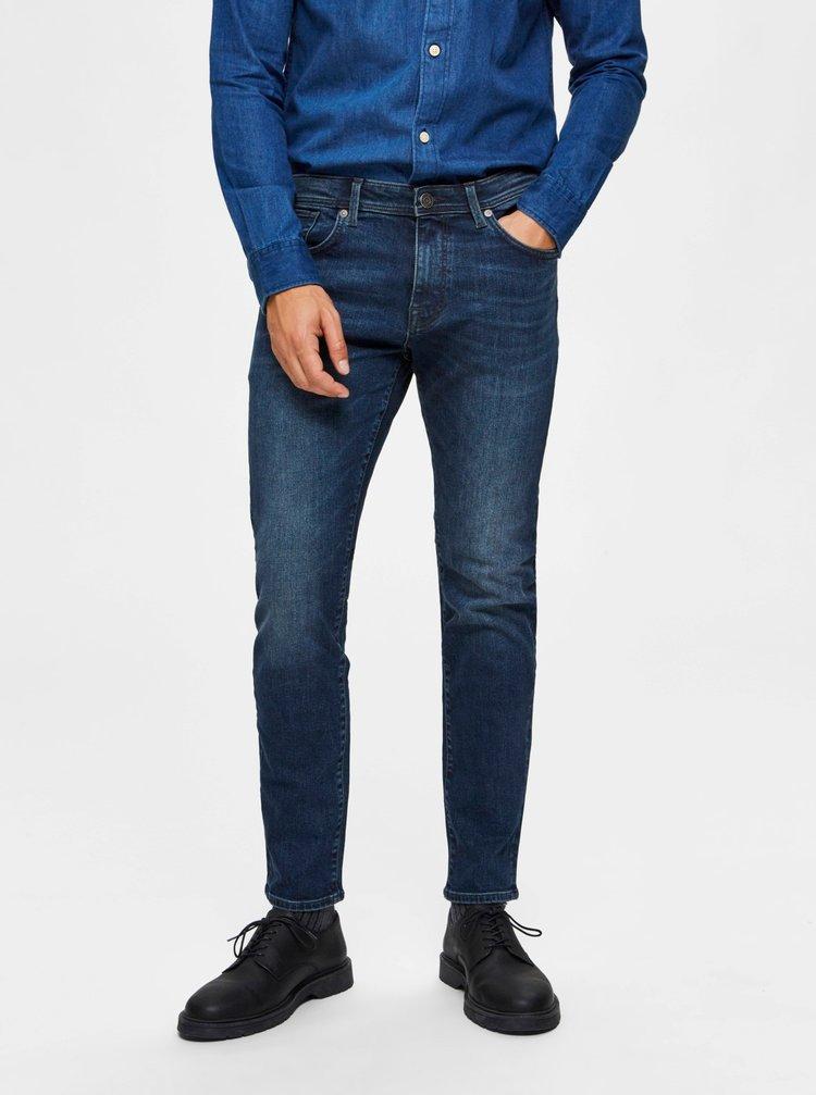 Slim fit pentru barbati Selected Homme - albastru