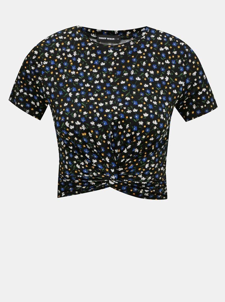 Tricouri pentru femei TALLY WEiJL - negru