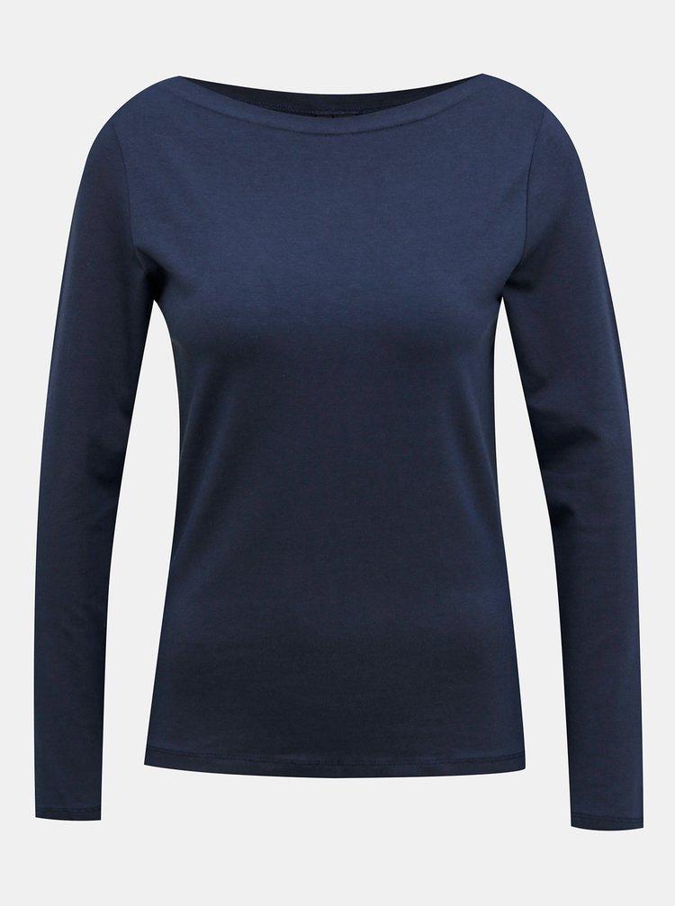 Tricouri basic pentru femei VERO MODA - albastru inchis