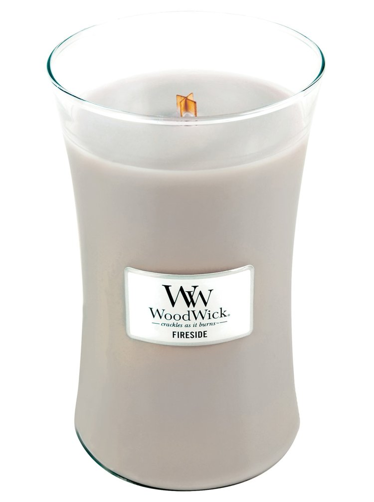 WoodWick vonná svíčka Fireside velká váza
