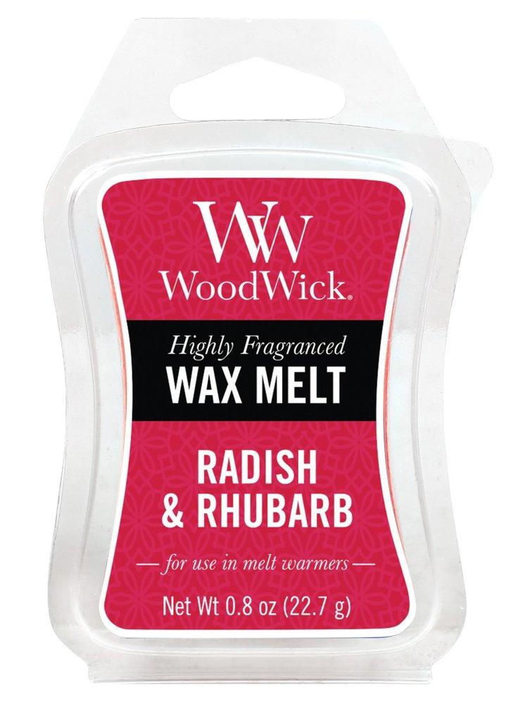 WoodWick vonný vosk do aroma lampy Radish and Rhubarb