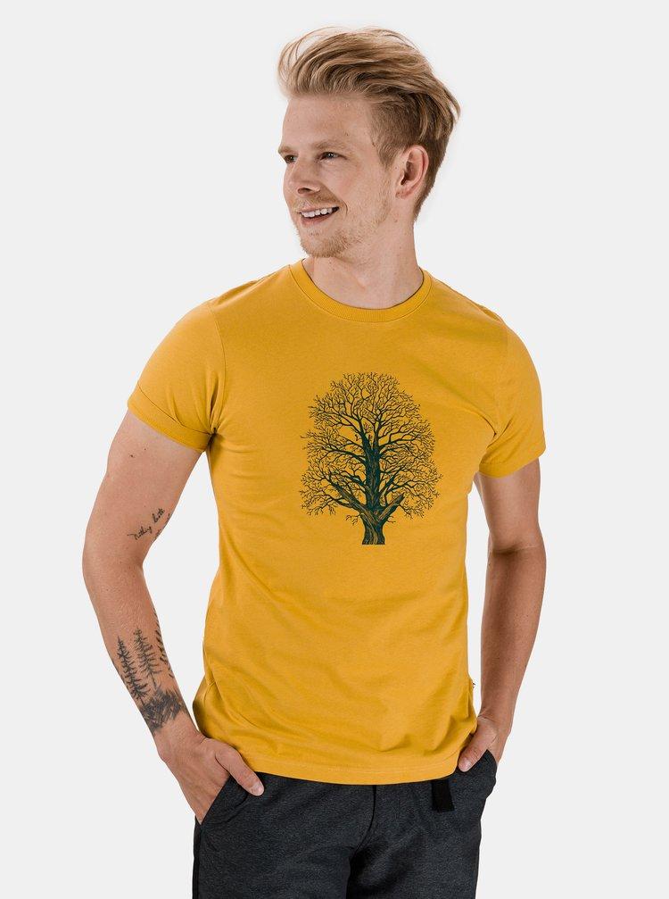 Žluté pánské tričko SAM 73