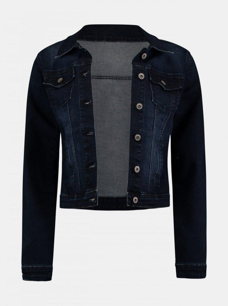 Tmavě modrá dámská džínová bunda Haily´s
