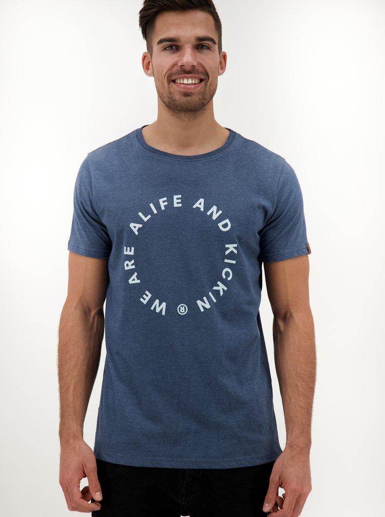 Modré pánské tričko Alife and Kickin