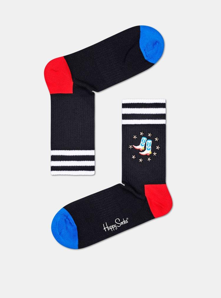 Sosete pentru femei Happy Socks - negru