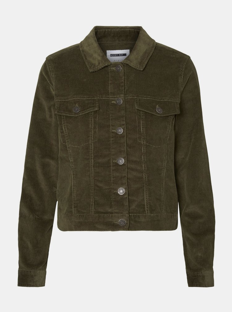 Jachete subtire pentru femei Noisy May - kaki
