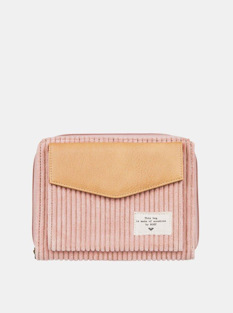 Růžová peněženka Roxy