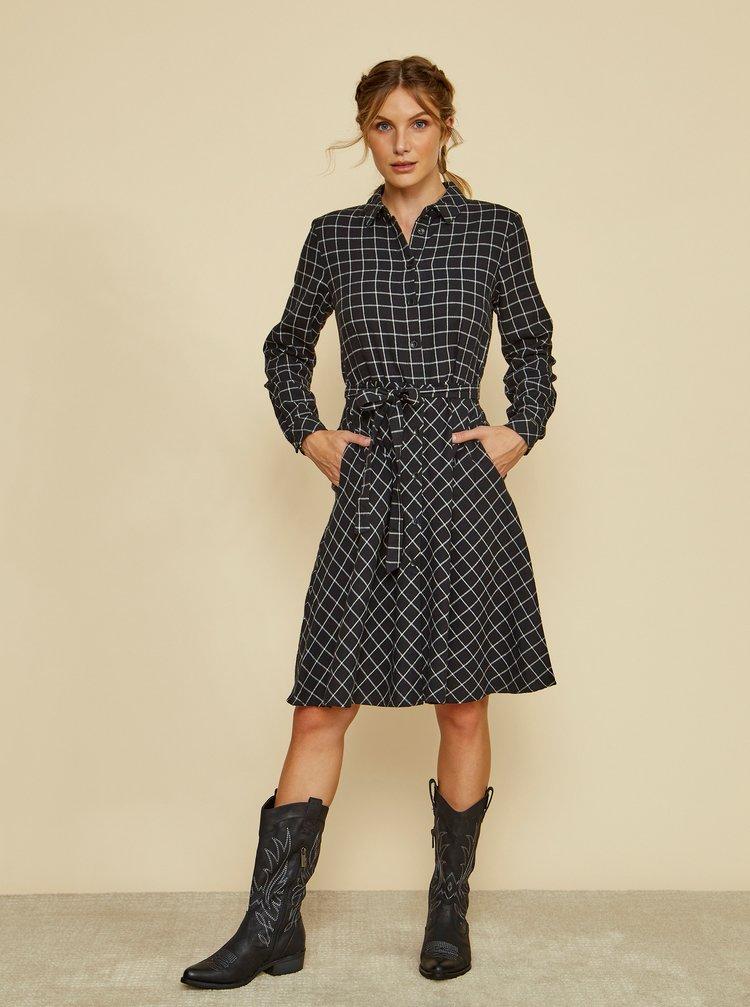Rochii tip camasa pentru femei ZOOT - negru