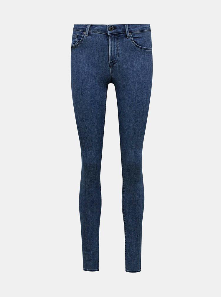 Modré skinny fit džíny ONLY Rain
