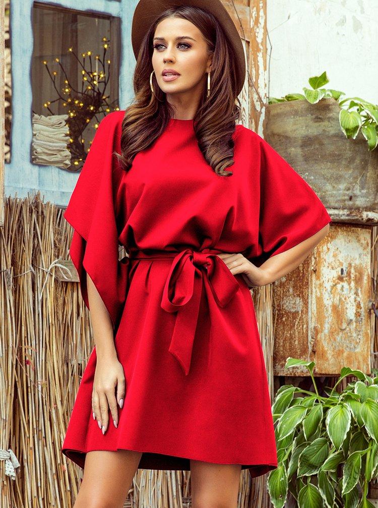 Červené šaty numoco