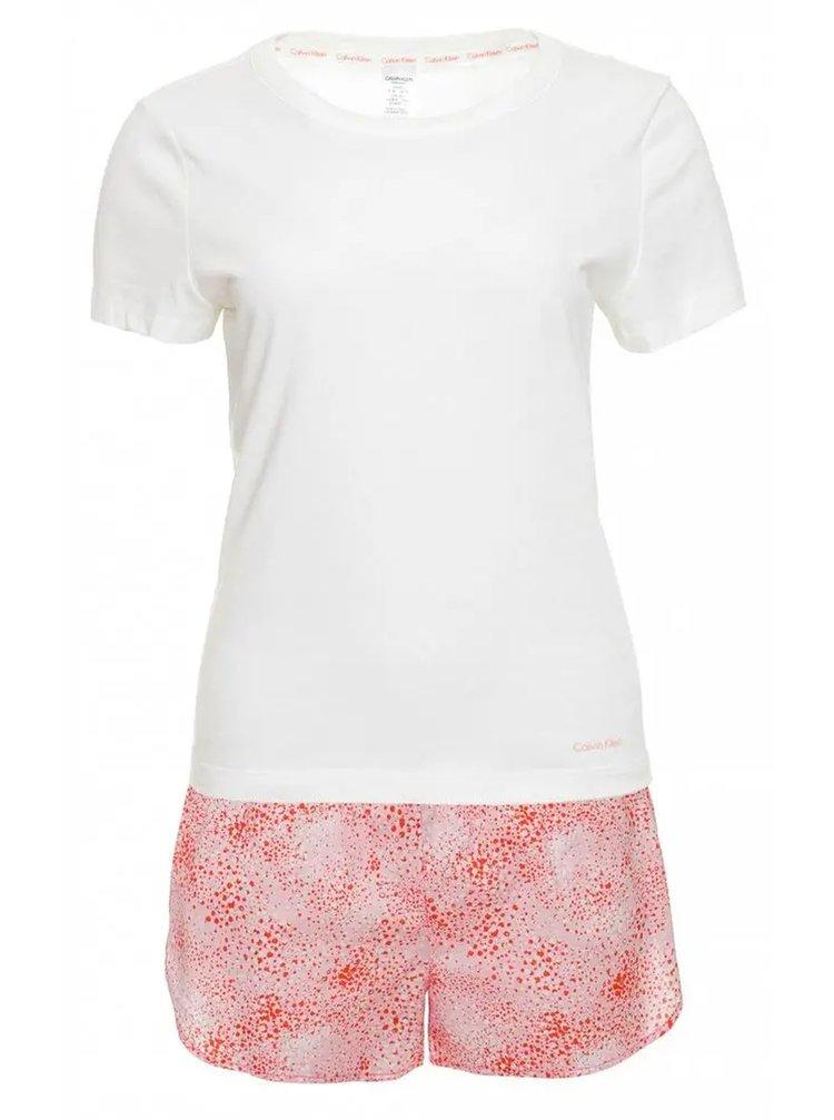 Calvin Klein barevné pyžamo S/S Short set