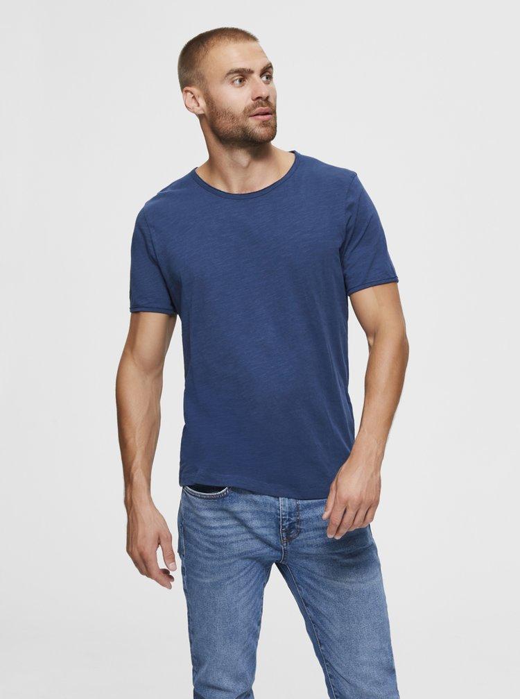 Topuri pentru barbati Selected Homme - albastru
