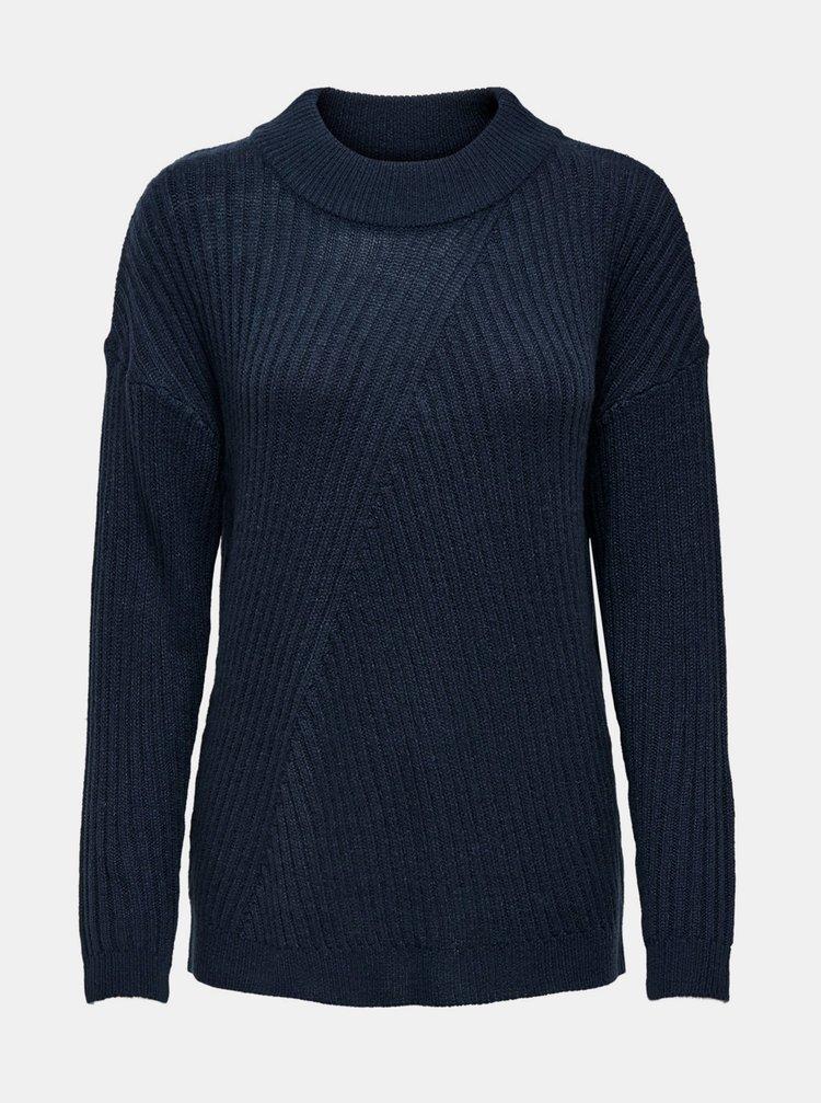 Tmavě modrý svetr Jacqueline de Yong Zofra