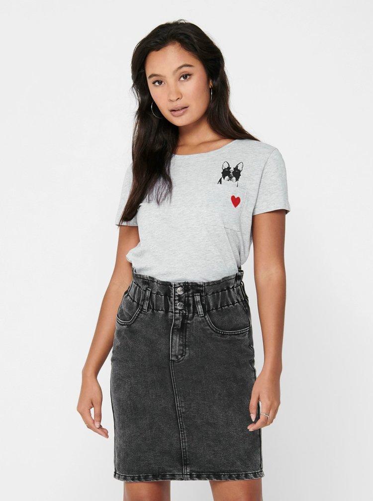 Tricouri pentru femei Jacqueline de Yong - gri