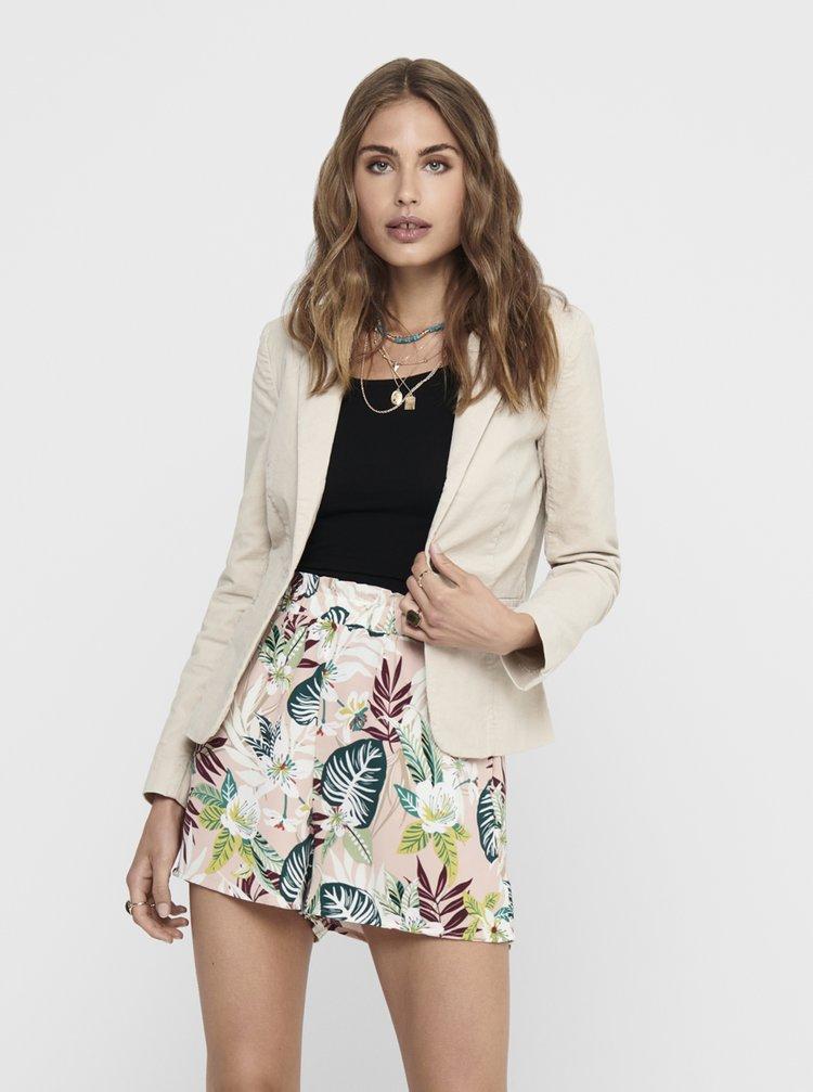 Sacouri si blazere pentru femei Jacqueline de Yong - crem